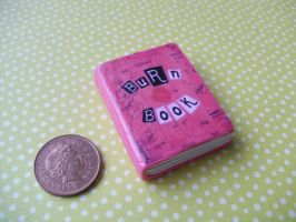Mean Girls Burn Book pendant by InsaneJellyBean95