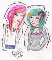 Alyse n Willow by ohjealousyx