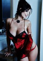 denise milani red hot babe by andyhsu666666