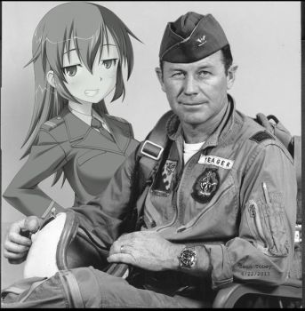 Shirley and Chuck Yeager by DemonBa55Player