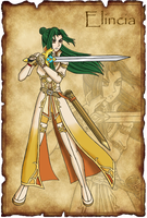 Elincia - Dawn of Darkness by Great-Aether