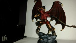 UltraForge Bloodthirster Conversion WIP 2 by Ryuondo