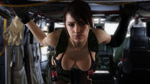 Quiet - The Silent Sniper - Metal Gear Solid V by BillyM12345