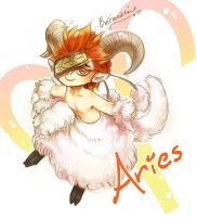 Chibi Aries by Enissaceb