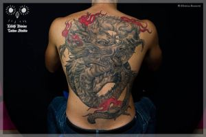 Chinese Dragon by LilithDivine-Tattoo