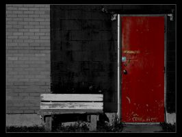The Red Door by FromNothingToNothing