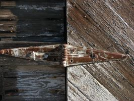 Rusted Hinge by FoxStox