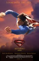 superman Returns poster by jamce