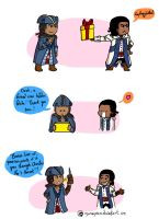 Happy Birthday Haytham (love love) by Dulcamarra