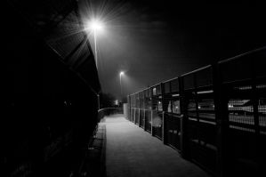 Scene of any night in B and W by vallo29