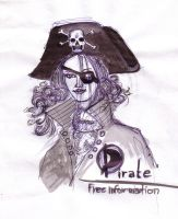 pirate girl by concho