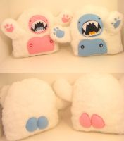 WOAH TOTALLY YETIS-blueandpink by loveandasandwich