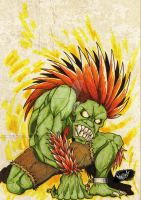 Blanka by roqdraw