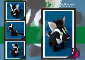 MINI Voltorn - plush by FurryFursuitMaker