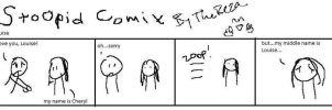 Stoopid comix Louise by TheReza13