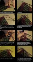 Changing color in crochet by FROdominatrix