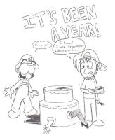It's Been A Year by DairyKing