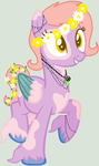 [AUCTION SOLD] Hippie Pony Adopt by Nintendo-Lover-Kat
