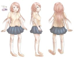 Unnamed Character Reference by shizuka722