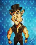 Aamir Khan - Dhoom 3 by libran005