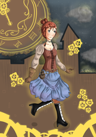 Prize::Steampunk by Chickadee-chii