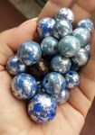 Blue Planet beads by Letizializ
