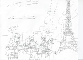 UNFINISHED: The Fall of Paris by LBFable