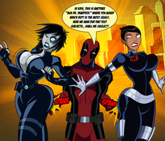 Ask Dr. Deadpool: The Jiggly Effect by grimphantom