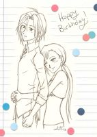 HB: Mateus and Amane by theLostSindar