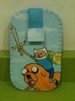 Adventure Time Mobile Case by anapeig