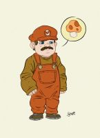 Super Mario by stayte-of-the-art