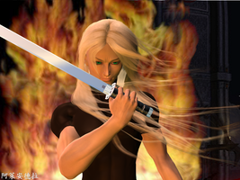 Sephiroth by inadreamworld