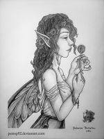 The Dandelion Fairy by petrop92