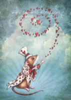 Valentine Mouse 1 by WildWoodArtsCo