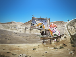 (COMMISSION) On the road by turbopower1000