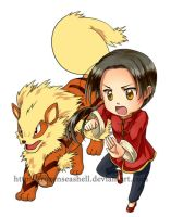 HetaPoke- China+Arcanine by FrozenSeashell