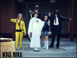 KILL BILL team by andycold