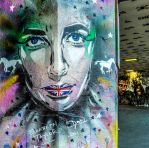 Don't Shoot Elizabeth Taylor, Street Art by deepgrounduk