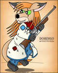 Domingo the Bandit-Digital Color by LordDominic