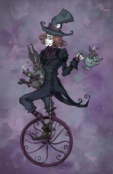 The Mad Hatter by IrenHorrors