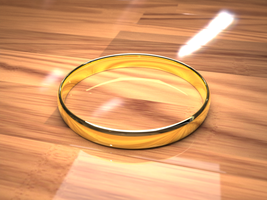 gold ring by pyrohmstr