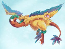 Best Bird Archeops by KaceyMeg
