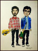 Flight of The Conchords by Bonniemarie