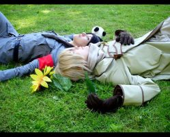 APH: rest together by Aoinagaru