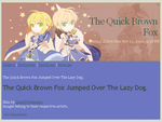 Fate/Stay Night Servant Saber Journal Skin by DeadlyObsession