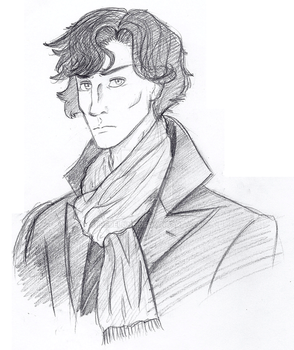 Sherlock by PiefaceMcGee