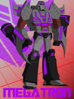 Cam's TFAU Megatron by TheScarletMercenary