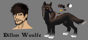 Dillon Woulfe - Partial Ref by IrishWolven