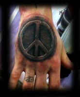 Peace Tattoo by WildThingsTattoo
