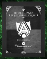 TI3 Banners - Alliance by goldenhearted
